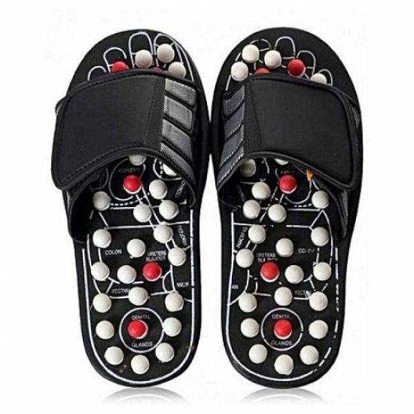 Papuci reflexoterapie. Masaj si relaxare la fiecare pas!