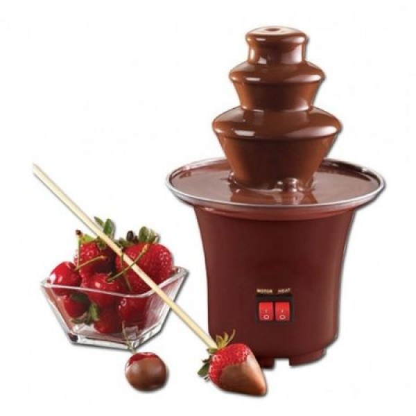 Mini fantana de ciocolata cu 3 nivele