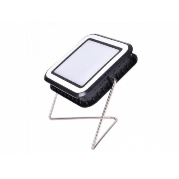 Proiector cu incarcare panou solar si USB cu 30LED-uri, 10W alb rece