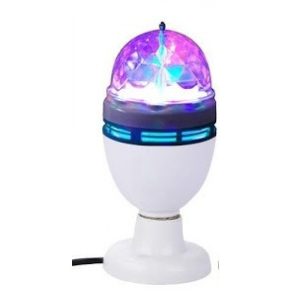 Cristal Ball - bec disco led, lampa rotativa