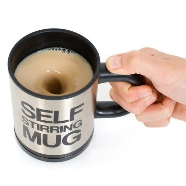 Cana Self Mug pentru o bautura savuroasa: ceai, cafea, ciocolata calda