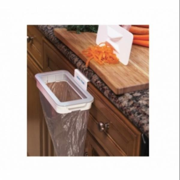 Cos de gunoi suspendat - se aseaza usor pe usile dulapurilor de bucatarie