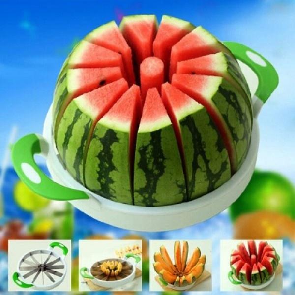 Dispozitiv pentru feliat pepene / ananas