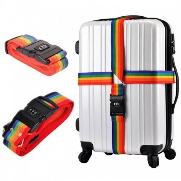 Centura de siguranta pentru bagaje cu cifru