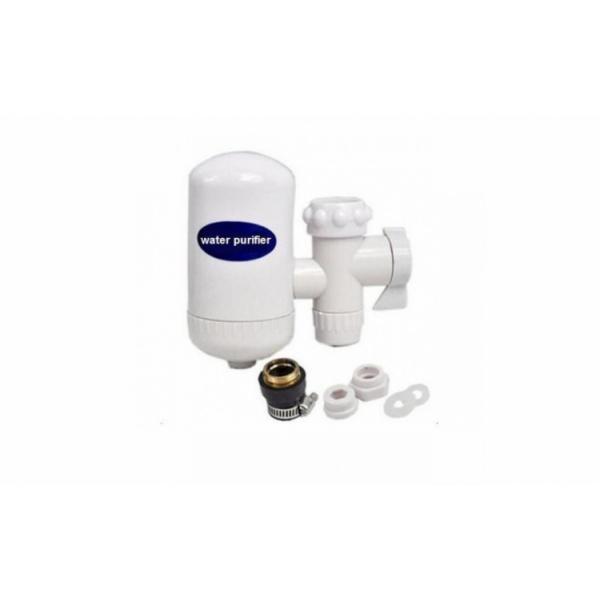 Filtru de apa montat pe robinet, cu posibilitate de curatare a cartusului filtrant