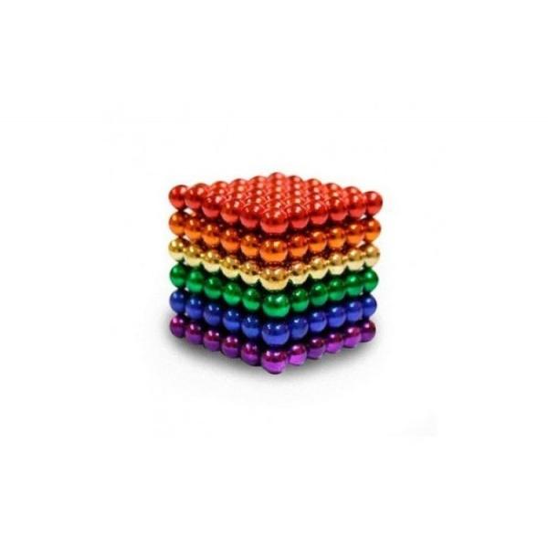 Bile magnetice antistres neocube, multicolor 216 piese