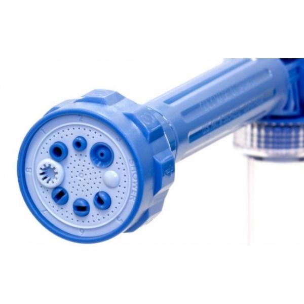 Dispozitiv de apa cu 8 tipuri de jet - perfect pentru casa, gradina, masina