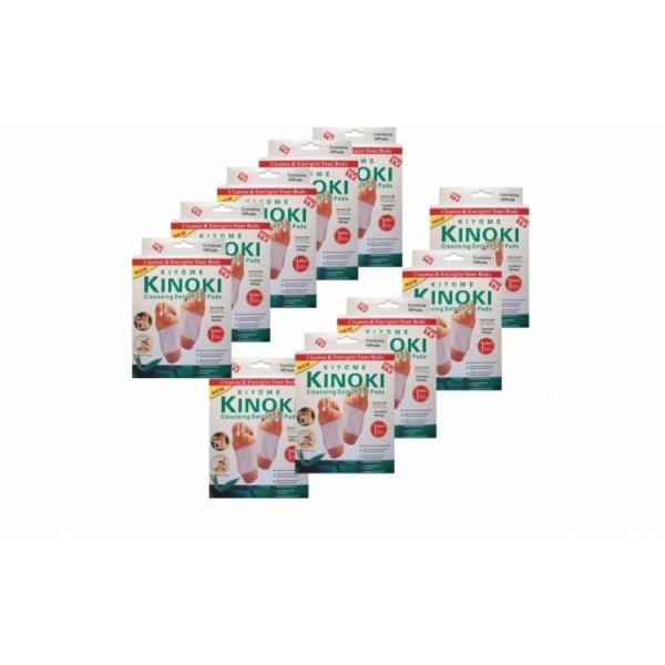 100 de plasturi kinoki, pachet complet detoxifiere, pentru intreaga familie