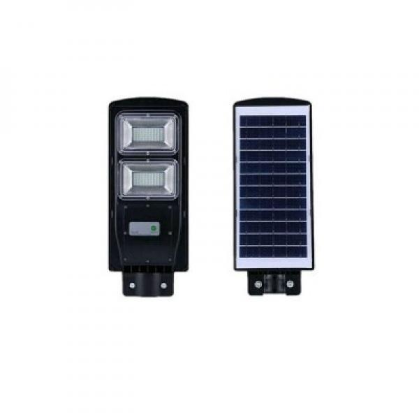 Lampa solara cu led, senzor de miscare rezistenta la apa, putere 40W