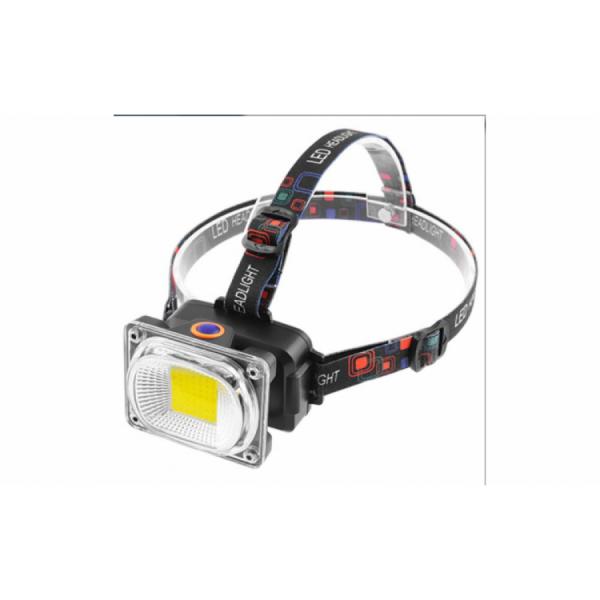 Lanterna reincarcabila de cap cu LED mare 2.5 cm, model LL-6651