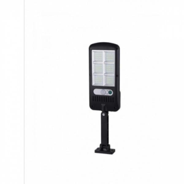 Lampa mini solara LED de exterior,senzor de miscare,3 moduri,rezistenta la apa, BK-120-6COB