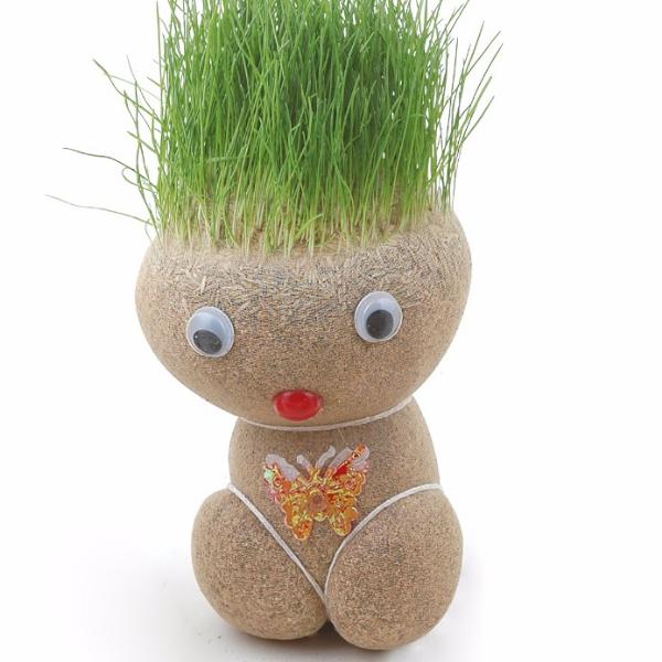 Jucarie amuzanta - cap de iarba