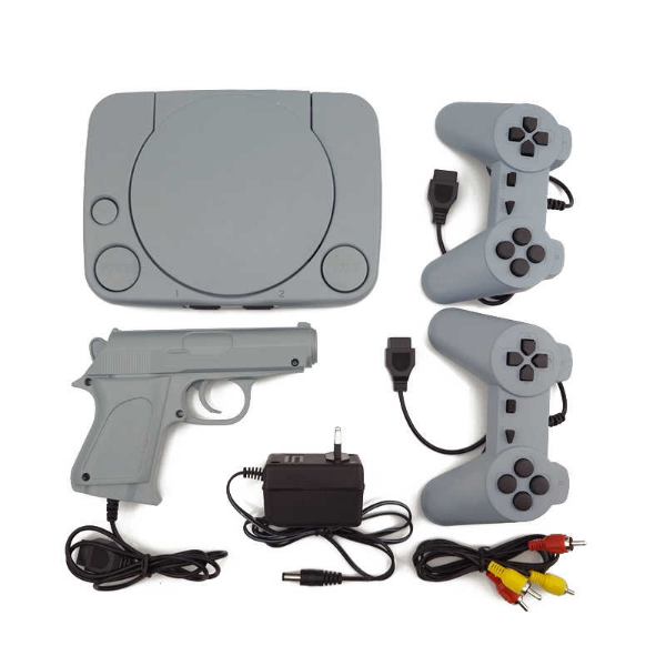 Consola jocuri-video cu joystick-uri incluse
