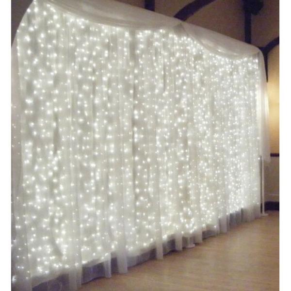 Instalatie perdea-poaie 384 LED 9x1 m