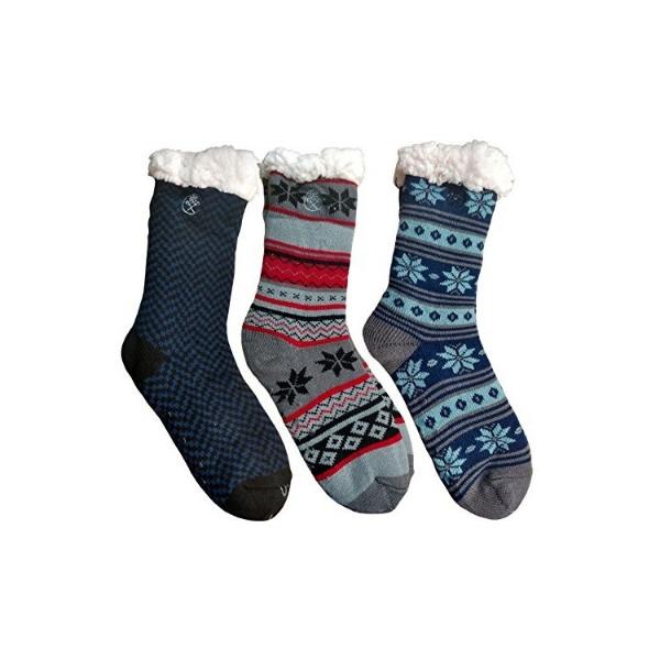 Ciorapi cu interior imblanit pentru barbati Model Winter Season